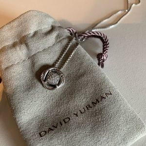 David Yurman Infinity Diamond Pendant